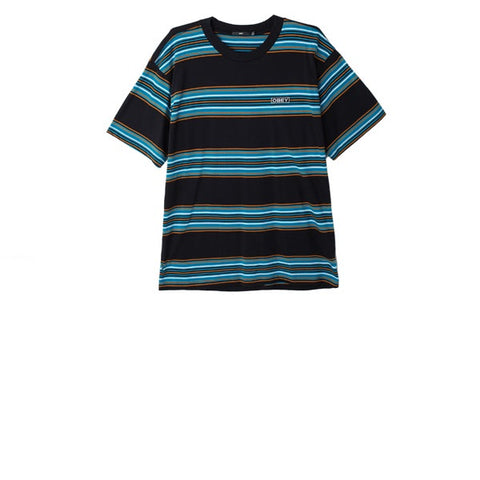Obey Route Classic S/S Tee Black Multi