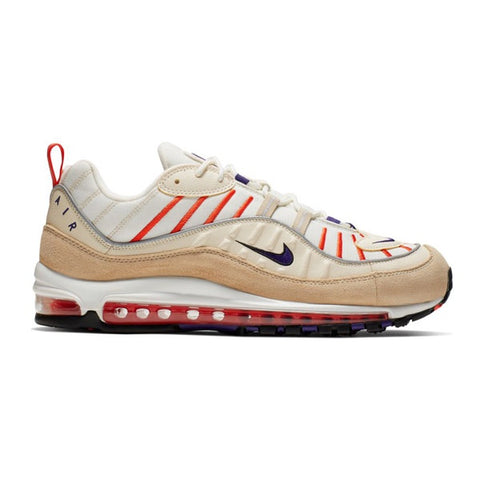Nike Air Max 98 Sail Court Purple Light Cream Desert Ore