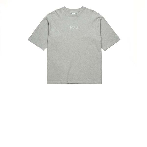 Polar SS Default Tee Heather Grey