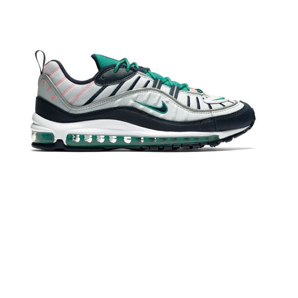 Nike Air Max 98 Pure Platinum Obsidian Kinetic Green