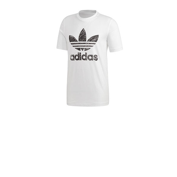 Adidas Hand Drawn T1 Tee White