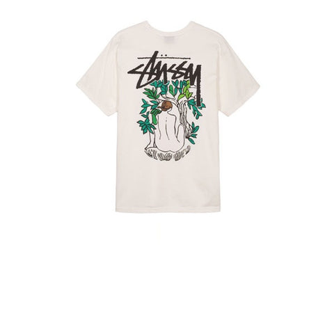 Stussy Forces Of Nature Pig Dyed Tee Natural
