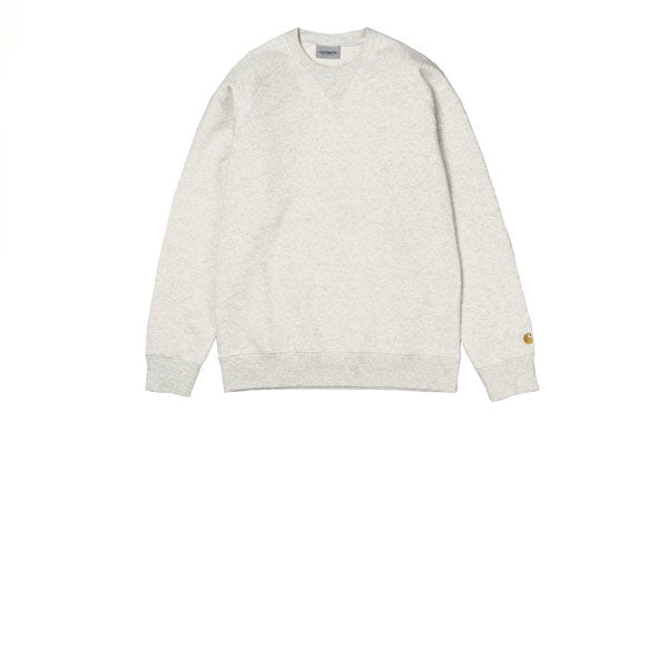 Carhartt Chase Sweat Ash Heather Gold