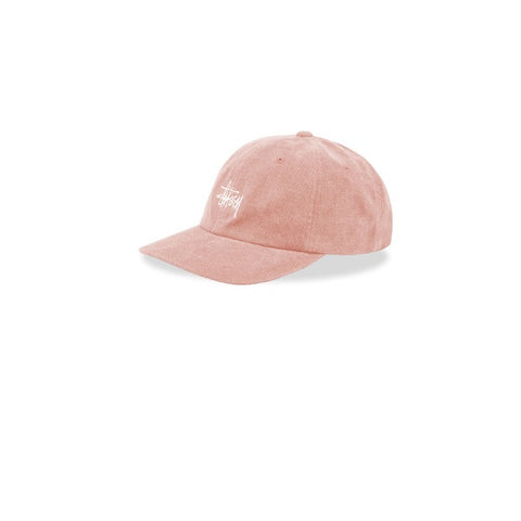 Stussy No Wale Cord Low Pro Cap Pink