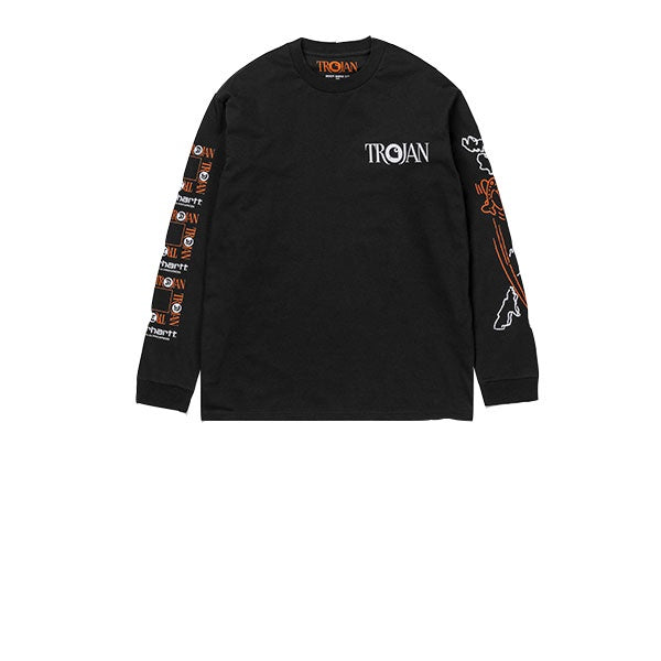 Carhartt L/S TROJAN Boss Sounds T-Shirt Black