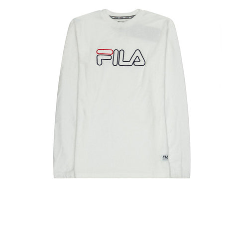 Fila Cristallo Towelling Sweater White