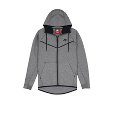 Nike Tech Fleece Wind Runner - Carbon Grey - Kong Online - 1
