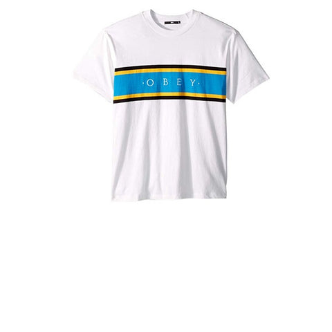 Obey Charm Classic S/S Tee White Multi