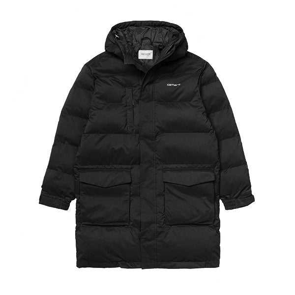 Carhartt Weber Coat Black White