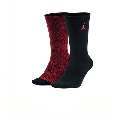 Air Jordan Elephant Crew 2 Pack Red Black