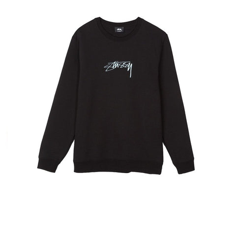Stussy Smooth Stock App Crew Black