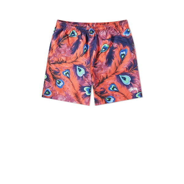 Stussy Peacock Water Short Red
