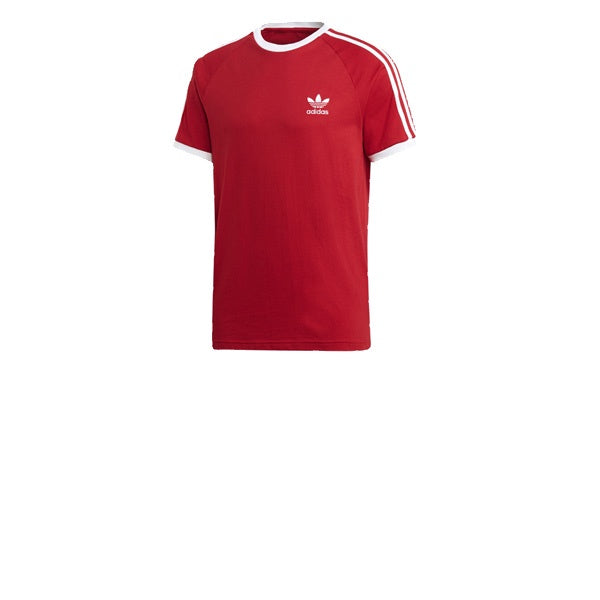 Adidas 3 Stripes Tee Power Red