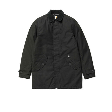 Carhartt Harris Trenchcoat BlackWashed - Kong Online