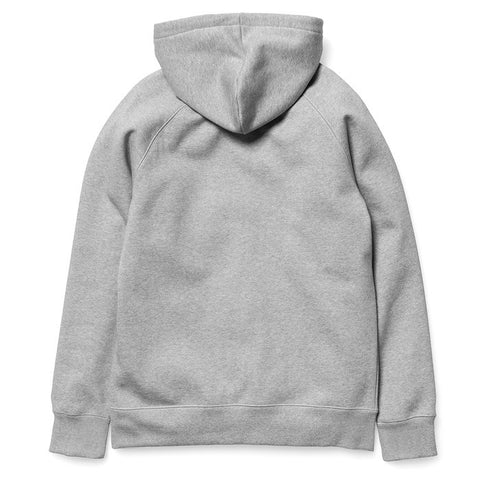 Carhartt Hooded Chase Sweat Grey Heather - Kong Online - 2
