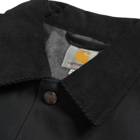 Carhartt Michigan Chore Coat Black Rigid - Kong Online - 2