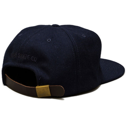 Polar PSC Ground Crew Wool Cap Navy Grn - Kong Online - 2
