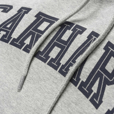 Carhartt Hooded Yale Sweat Grey Heather Navy - Kong Online - 2