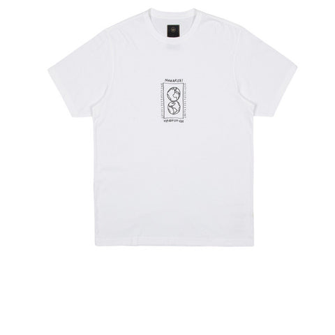Maharishi Monde Deux Embroidered T-Shirt White