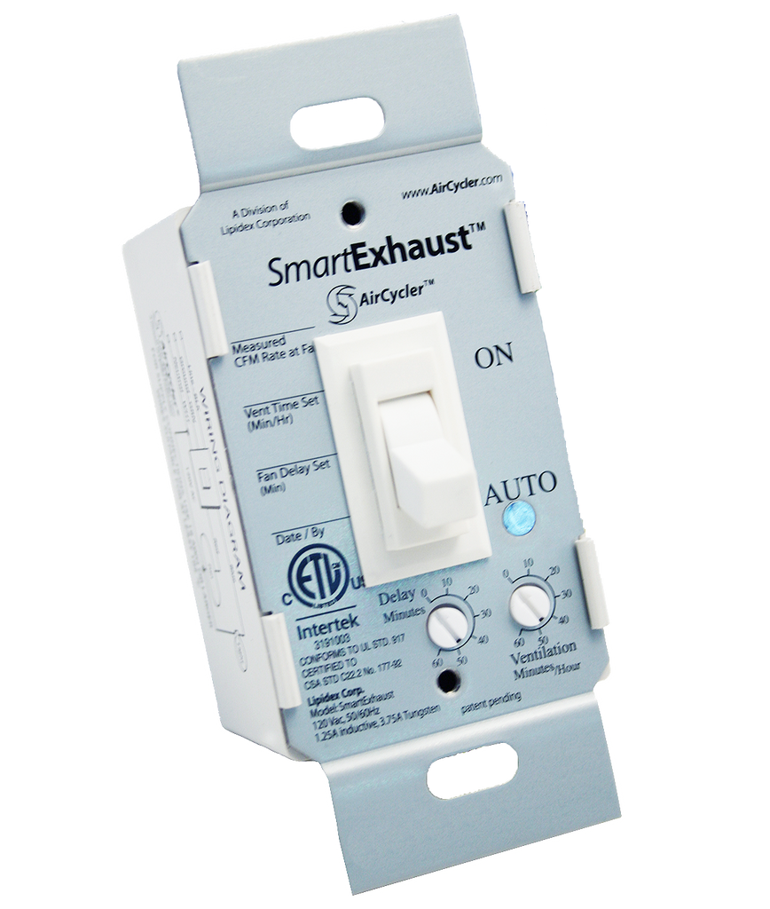 Bathroom fan timer from aircycler wiring diagram - Aircycler Smart Exhaust Bathroom Fan Timer Switch Smartexhaust Toggle Smartexhaust Toggle Aircycler