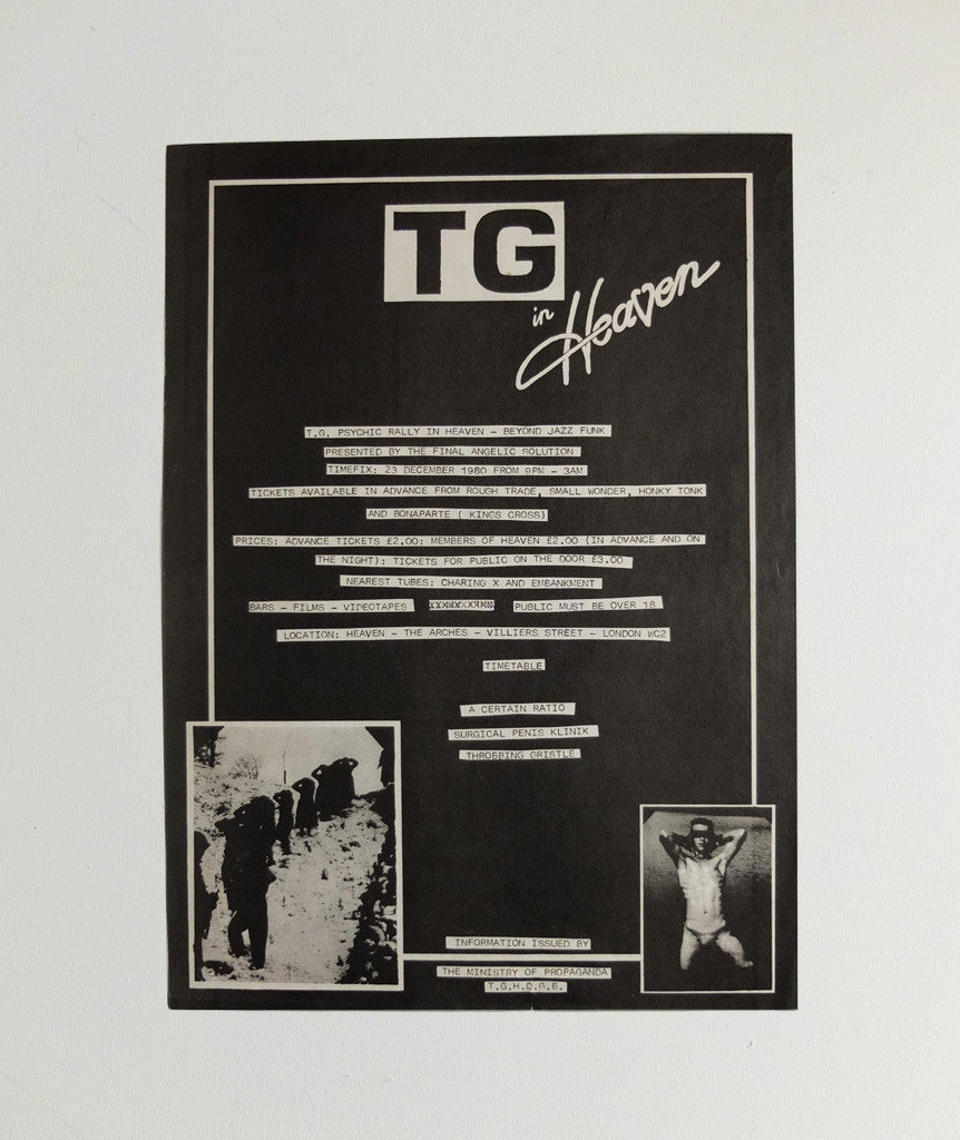 TG in Heaven poster, 1980