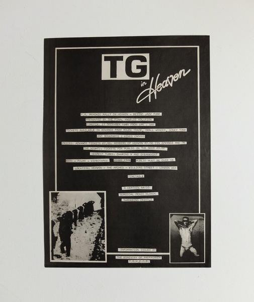 TG in Heaven poster, 1980}