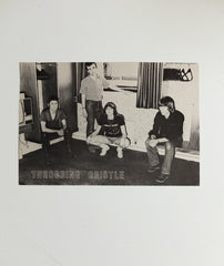 Throbbing Gristle group portrait poster
