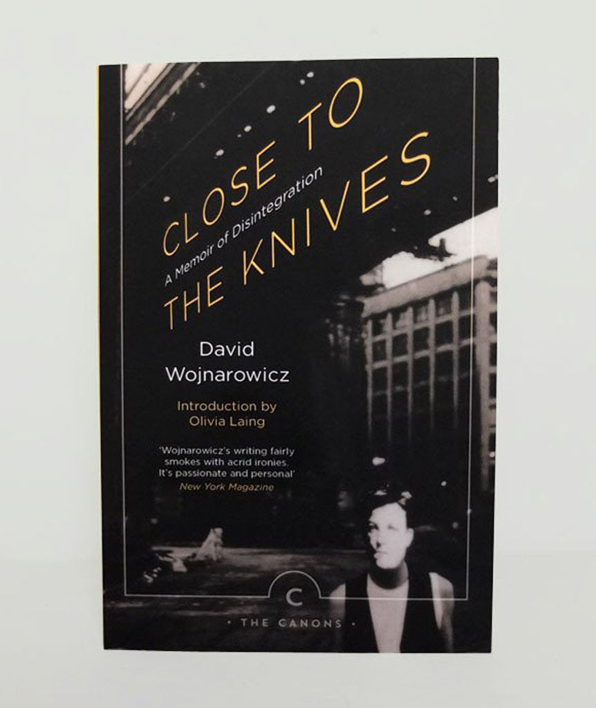 Close to the Knives: A Memoir of Disintegration by David Wojnarowicz