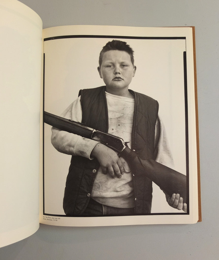 In the American West by Richard Avedon (Signed)