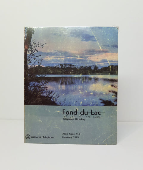Bottom of the Lake / Fond du Lac by Christian Patterson