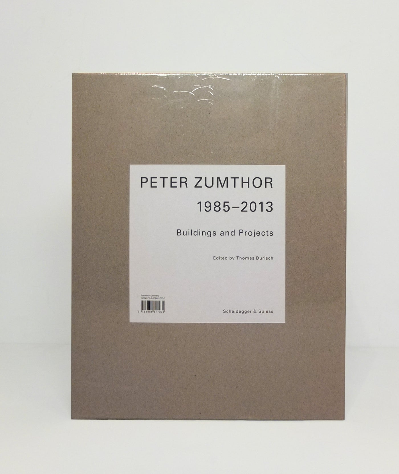 Peter Zumthor 1985-2013: Buildings and Projects}
