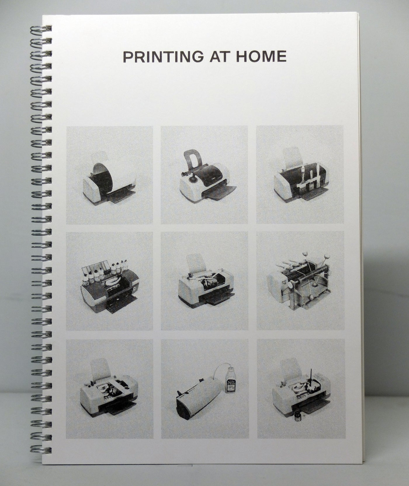 Printing at Home by Xavier Antin}
