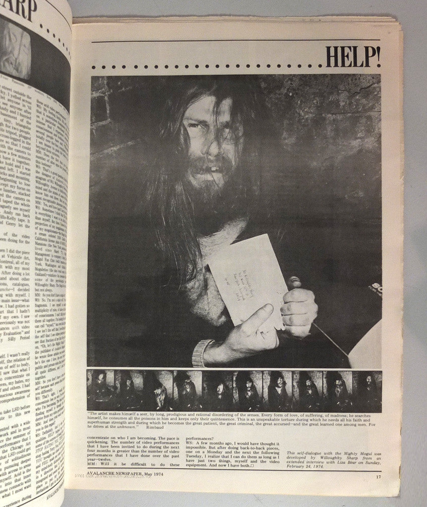 Avalanche Newspaper May/June 1974