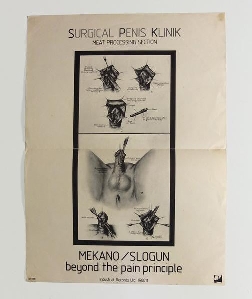 Surgical Penis Klinik: Meat Processing Section poster, 1980