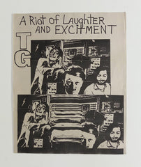 Throbbing Gristle: A Riot of Laughter and Excitement poster