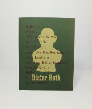 Balle Balle Balle by Dieter Roth}