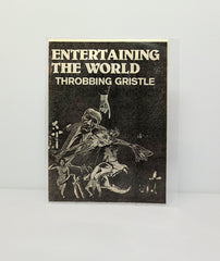 Throbbing Gristle: Entertaining the World - original flyer