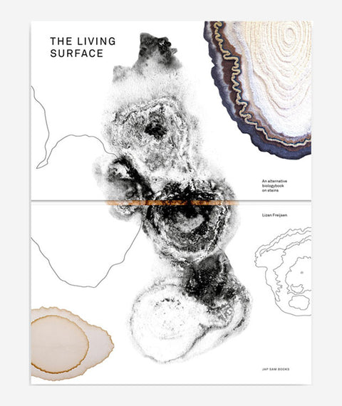 The Living Surface (An alternative biology book on stains) by Lizan Freijsen