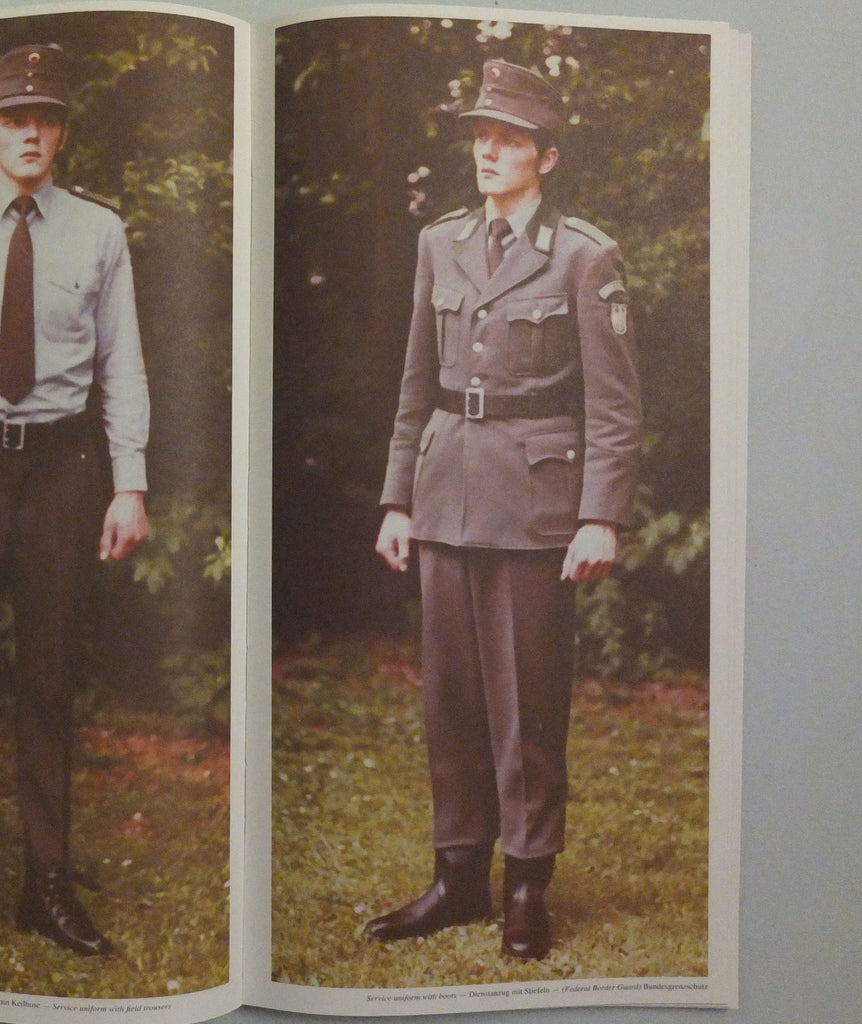 Models: A Collection of 132 German Police Uniforms and How They Should be Worn (OOP)