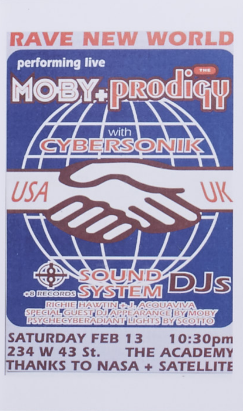 New York Rave Flyers 1991 - 1995