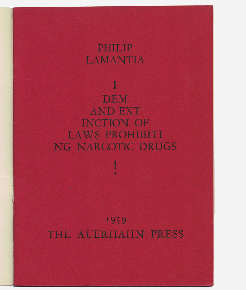 Narcotica by Philip Lamantia