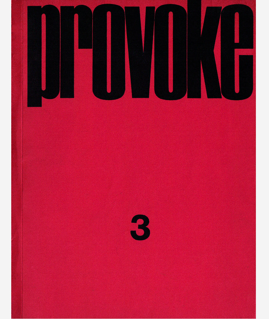 Provoke: Complete Reprint, 3 Volumes
