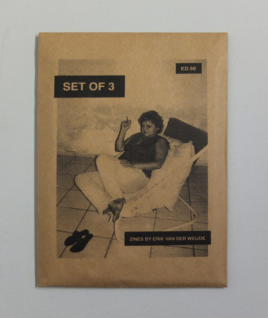 Set of Three Zines by Erik van der Weijde