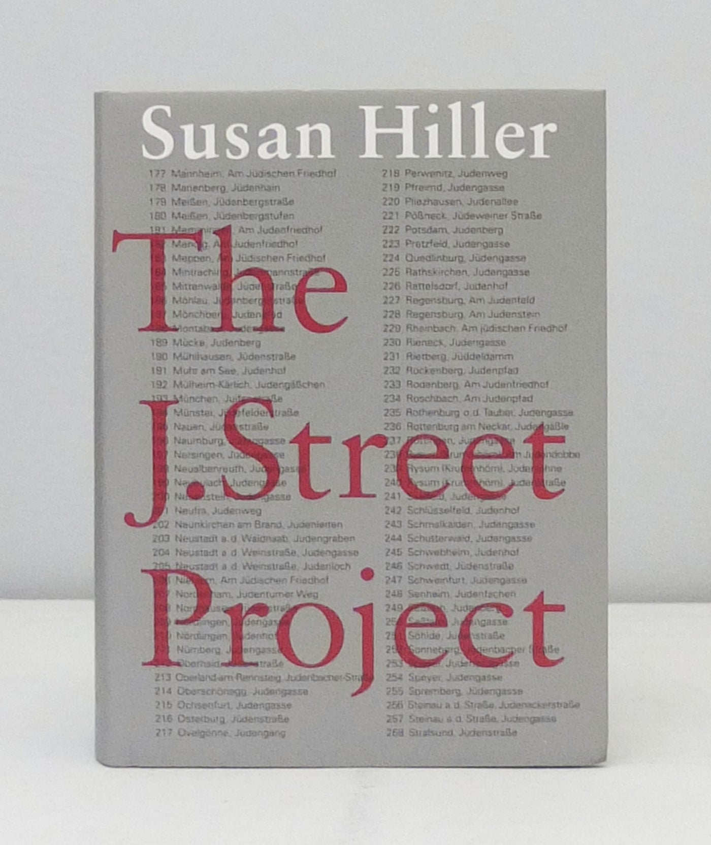 The J. Street Project by Susan Hiller}