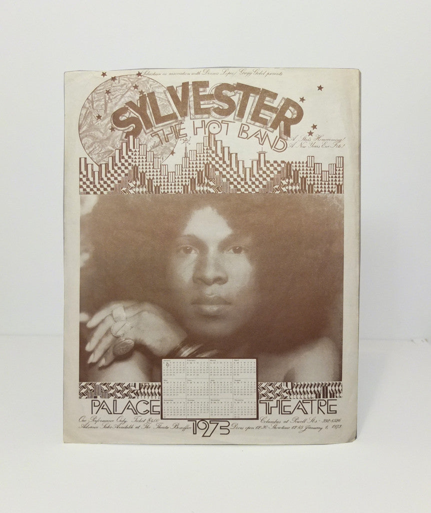 Sylvester and The Hot Band – original flyer