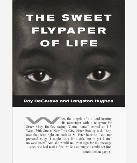 The Sweet Flypaper of Life by Roy DeCarava & Langston Hughes