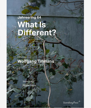 What Is Different? by Wolfgang Tillmans. Jahresring 64}