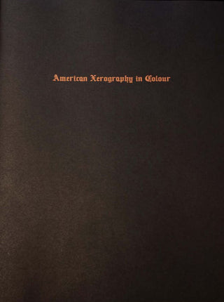 American Xerography in Colour by Matt Martin}
