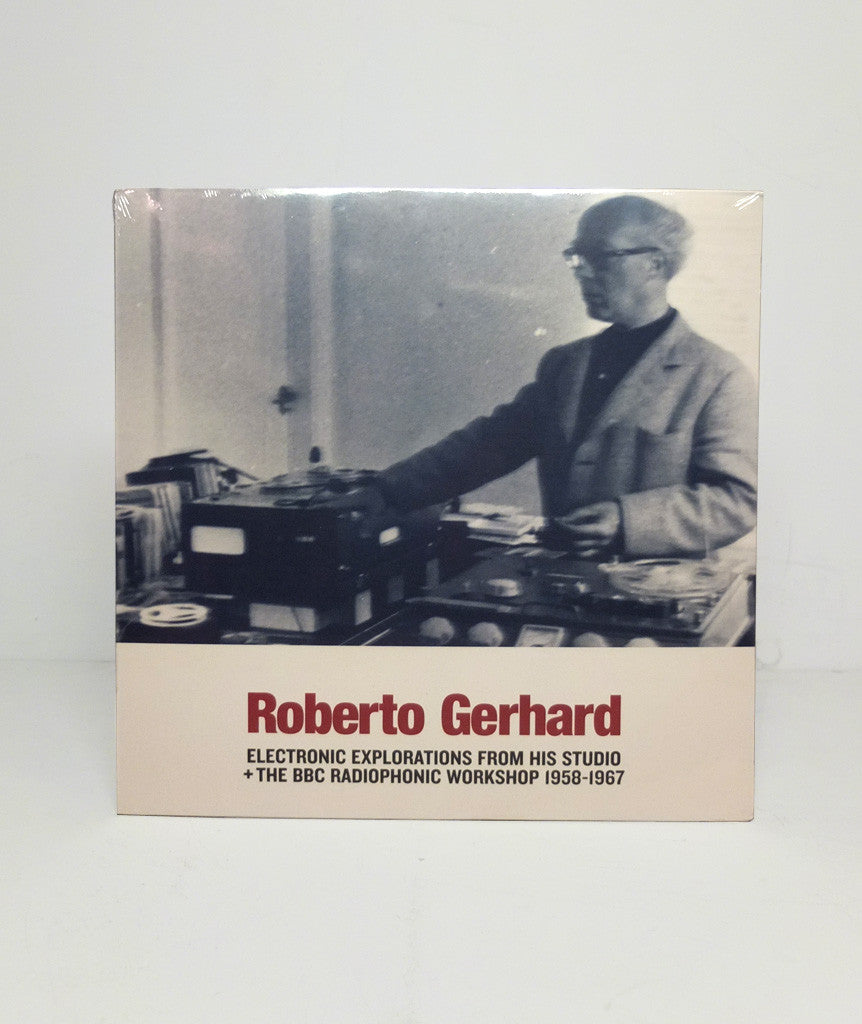 Roberto Gerhard: Electronic Explorations from his Studio}