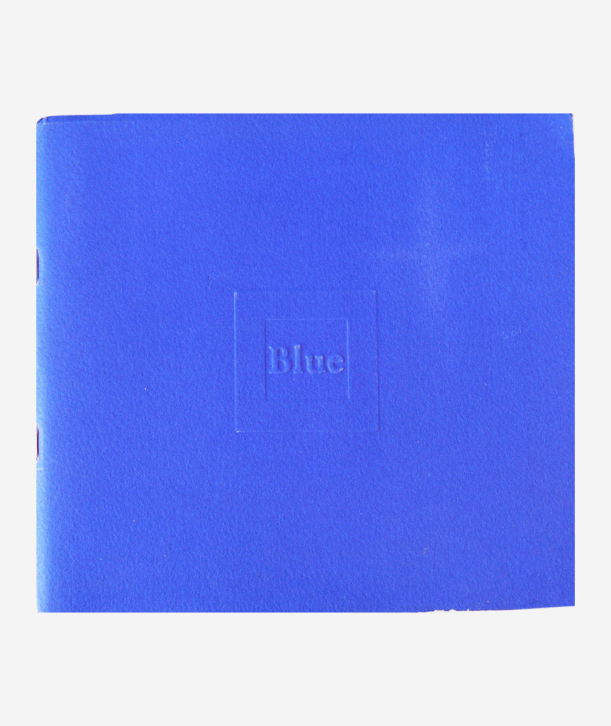 Blue by Derek Jarman}